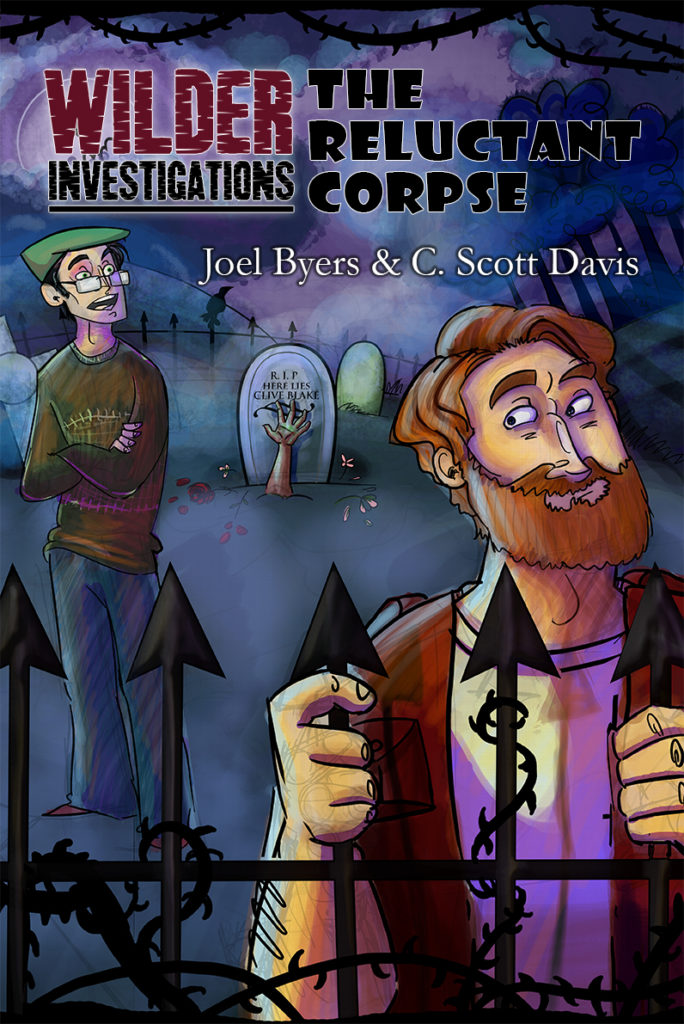 Wilder Investigations: The Reluctant Corpse (front cover)